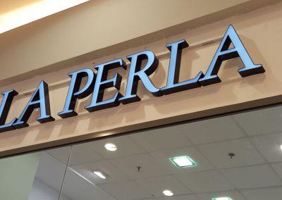 Обемна реклама с вътрешно LED осветление LA PERLA