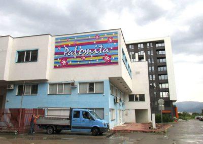 Печат на винил и монтаж -офис на PALOMITA