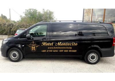 Брандиране на пътнически бус – хотел МОНТЕСИТО